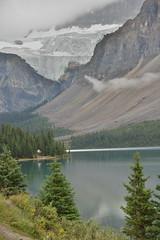 Crowfoot Glacier (barry gahan) Tags: canada rockymountains icefieldsparkway glacier crowfootglacier