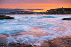 Sunset at Coogee (rahulbhavsar45) Tags: sunset coogee beach sydney australia seascape ocean golden
