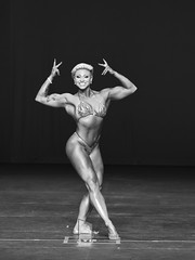 NJ NPC Championships (Narratography by APJ) Tags: apj diamondgym events narratography nj bw blackandwhite bodybuilder strong beautiful
