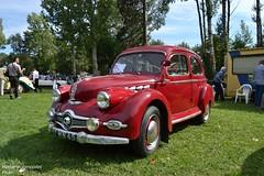 Panhard Dyna X (Monde-Auto Passion Photos) Tags: auto automobile panhard dyna rouge petite 48h montargis villemandeur domaine lisledon