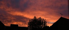 Sunrise today (gillybooze) Tags: allrightsreserved sunrise dawn outside outdoors visit panarama tree sky clouds cloud