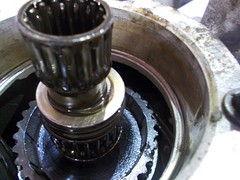 Top bearing removed (37114) Tags: fairey overdrive rebuild