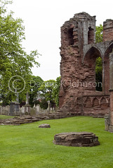 Arbroath Abbey ruins, Scotland (dkjphoto) Tags: greatbritain travel church abbey cemetery grave island scotland sandstone edinburgh europe angus religion ruin johnson scottish historic holy burns churchyard scotch 1320 arbroath scots declarationofarbroath arbroathabbey arbroathsmokie wwwdenniskjohnsoncom denniskjohnson