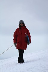 "Natalie walks to sledding start • <a style=""font-size:0.8em;"" href=""http://www.flickr.com/photos/27717602@N03/8363964498/"" target=""_blank"">View on Flickr</a>"
