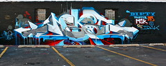 NEKST 126 (Eclectic Dyslexic) Tags: chicago dedication de graffiti rip tribute msk dts pcf d30 126 chgo irak amuse nekst nekstlives