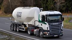 A - STAG Scania R 420 L (BonsaiTruck) Tags: stag silo camion trucks bludenz scania bulk lorries lkw ffb citerne feldbinder powdertank