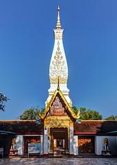 Wat Phra That Phanom #4 /  Nakhon Phanom / Thailand (I Prahin | www.southeastasia-images.com) Tags: brick festival thailand religious temple gold golden buddha buddhist entrance laos wat pilgrimage isaan chedi nakhonphanom exposurefusion
