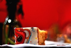 one of the Greek Flickr Cake , New Year's 2013 ! (dimitra_milaiou) Tags: life new city friends red food 6 white color love beautiful cake night greek happy design cafe nikon europe flickr pattern colours sweet bokeh d year sunday january smiles cook hellas photographers athens sugar greece plaka lovely 90 dimitra d90 2013           milaiou