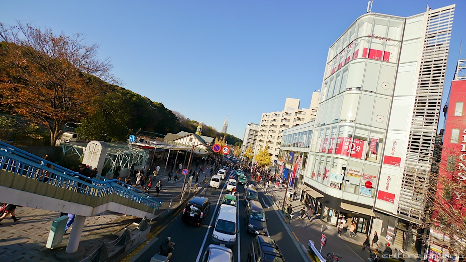Harajuku in the Winter