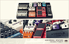 Set Up for 2013 - Pedalboard (Igor Formiga) Tags: red music white distortion rock canon effects photography design high delay key purple shot guitar witch mark steel space board clean ii 5d empress keeley katana vox product igor pedalboard wah compressor mkii digitech tremolo formiga reverb eventide fulltone wampler strobist
