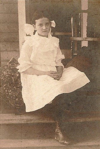 Grandmother Mabel as a young girl