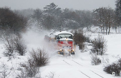 2013.01.18 | 478 329 | Veszprm (Davee91) Tags: snow train canon wind engine snowfall railways ldh railfan veszprm drift bakony helper 500d mv m47 bzmot railspot