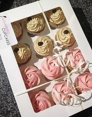 Rose & Espresso Cupcakes