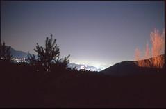 (bensn) Tags: longexposure film japan skyline night lights pentax slide limited provia nagano fa lx f19 400x 43mm