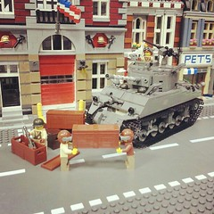 Playing around with the new BrickArms Crates... (GI Brick) Tags: usa 30 square soldier tank lego cal squareformat minifig rise crates browning brickarms m1919 brickmania iphoneography instagramapp uploaded:by=instagram gibrick
