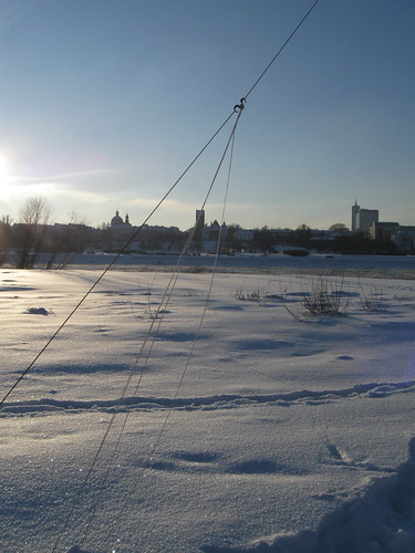 Winter KAPing at Vistula Bank