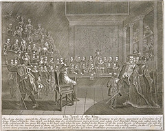 Trial of King Charles I, 1649 (London Metropolitan Archives) Tags: london history royal engraving trial palaceofwestminster westminsterhall 1649 kingcharlesi