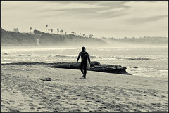 Dawn Patrol (Andrew Shoemaker) Tags: california beach canon photography surf pacific andrew surfing shoemaker encinitas