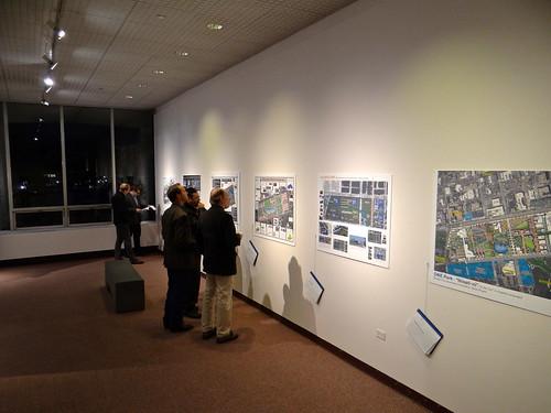 Photo - Competitors compare notes