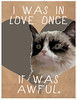 Cat Meme Valentines by Lazy Geometry (Paige Guggemos ( lazy geometry )) Tags: friends cats art cat print hearts happy feline no makeout makeup minneapolis valentine lovers meme giveaway take felines cupid share sleepover valentinesday breakup happycat grumpycat viral madaboutyou smittenkitten valentinescards paigeguggemos valentinesets itsnotyouitsmeme iwasinloveonceitwasawful