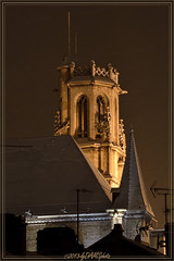 Eglise St Gengoult enneige / Church St Gengoult covered with snow (lgDAMSphoto) Tags: lighting street snow france church monument night catholic snowy religion illumination belief illuminated steeple neige lorraine nuit 54 eglise urbain moselle clocher clairage toul catholique nikkor70300 meurthe enneig meurtheetmoselle croyance illumin 54200 nikond7000