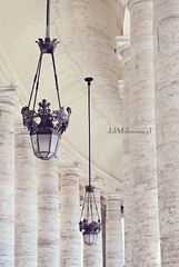 Saint Peter's Square, Vatican City (Ana Matusevic) Tags: summer italy rome architecture ancient vaticano
