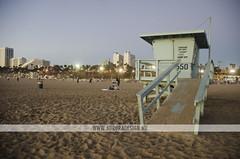 Santa Monica Pier (Naomi Rahim) Tags: california ca travel usa beach america evening pier losangeles nikon santamonica lifeguard socal americana naomirahim
