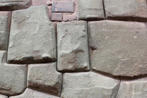 Is someone doing geometry on the stonework?