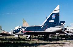 N617NA Convair F-102A Delta Dagger ex 56-0998 (eLaReF) Tags: faa n671na convair f102a delta dagger ex boneyard f102 masdc storage dm az davismonthan davis monthan derelict desert airplane graveyard aeroplane cn tucson