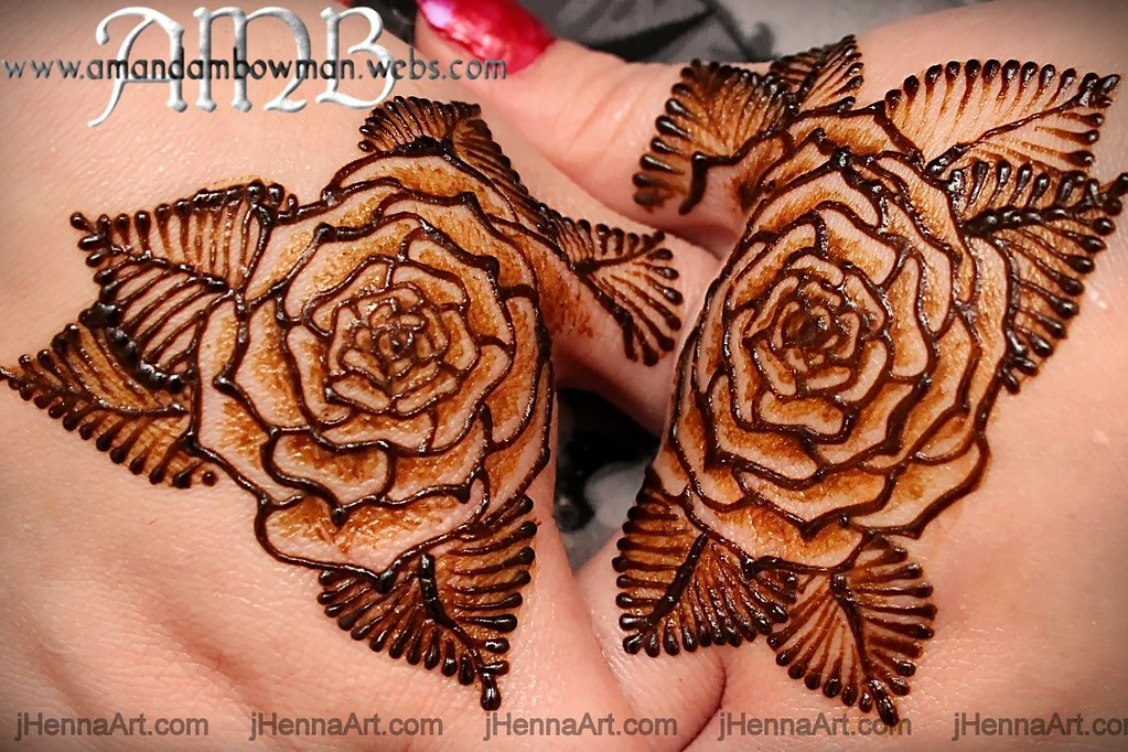 The world 39 s best photos of henna and jen flickr hive mind for Rose henna tattoo