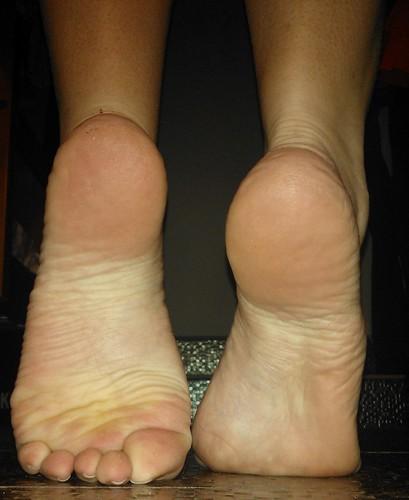 Sexy black female feet