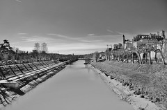 Le Gers, Auch, France (Tinina67) Tags: bw france river tour cathedral tina historical sw fluss gascony auch hauteville gascogne gers tinina67 aumarron