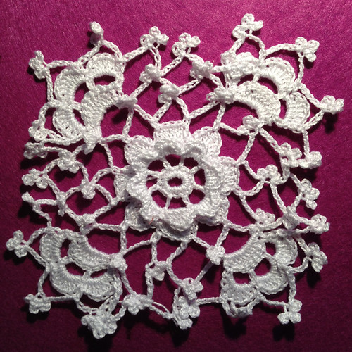 Irish crochet piece