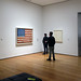 Jasper Johns, Flag with viewers