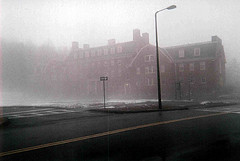 Fog (VickiePalmatier) Tags: fog umass butterfield universityofmassachusetts