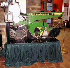 John Deere Max Emerge 2 Display. (dccradio) Tags: wisconsin mall farming equipment machinery ag agriculture wi agricultural farmequipment farmshow marshfield farmmachinery centralwisconsin shoppesatwoodridge marshfieldmall wisconsinfarming machineryshow agshowagricultureshow