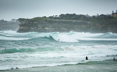 Rough Swell - Bondi 2013 (Paul Amestoy) Tags: storm beach water bondi surf surfer sydney wave australia rough swell bondibeach paulamestoy