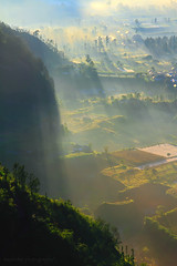 THE FOGY LAND (ManButur PHOTOGRAPHY) Tags: morning travel bali cloud mist nature clouds canon indonesia landscape photography eos volcano three nationalpark scenery asia exposure village view explorer natur line east explore caldera 7d tradition dslr polarizer rol batur tonal treking threes mountainscape eastasia schermerhorn polarize hikking sillhuette sigma18200mm sillhuet beautifulbali canon7d easasia manbutur manbuturphotography