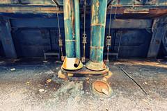 Das gefhrliche dritte Rohr (tonal decay) Tags: plant ice concrete rust power pipes kraftwerk rost eis boiler beton kessel rohre gigawatt