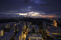 Telok Blangah Dawn (Martin Yon) Tags: city morning clouds sunrise dawn singapore cityscape housing hdb 1740mm telok blangah