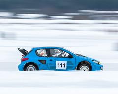 Pug (ken@pi©) Tags: snow ice finland track racing panning peugeot canon70200mmf4l canon50d worldcars smjäärata