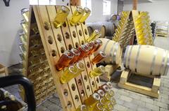 Riddling (Jacob Damgaard) Tags: food cold hand wine drink champagne cider winery rack danish riddle fermentation sparklingwine fermenting jutland applewine riddling jensskovgaard coldhandwinery danishwine