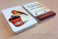 Business Card 2013 by Naomi C Robinson (Hi Ni) Tags: cute art robin graphicdesign artist designer illustrator custom businesscard cardgame personalised forkids robinredbreast mailer memorycards characterdesign llustration birdart promotionalmaterial forchildren roundedcorners moocards moobusinesscards moocom greetingcarddesign childrensbookillustrator artistpromo englishbird illustratorforhire forlicense artistbusinesscard childrensbookdesigner ruderobin