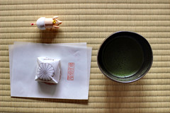 Shoren-In,green tea for ceremonies and Japanese confectionery (photoantenna) Tags: building green japan kyoto tea   shorenin