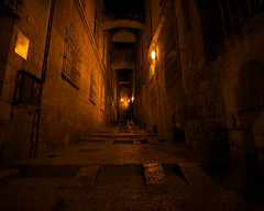 1 (Dave's exp.) Tags: night alley jerusalem 54 oldcity zf2 distagont2815