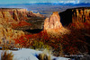 COLORADO NATIONAL MONUMENT ... COME ALIVE (Aspenbreeze) Tags: sunset mountains rural twilight colorado country canyon rockformations coloradonationalmonument deepcanyon sunspotlight gpse aspenbreeze bestevercompetitiongroup topphotospots tpslandscape bevzuerlein