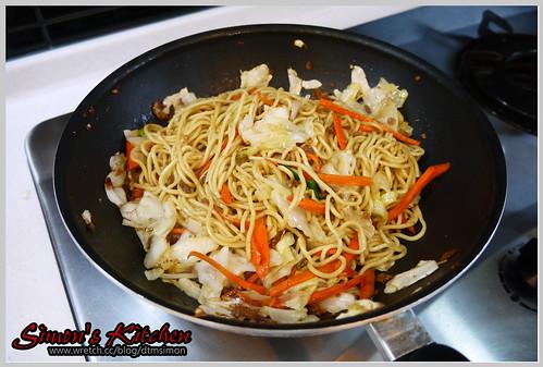 小吃攤炒麵06