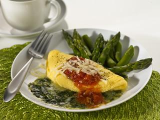 Omelet Pomodoro