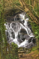 Fairy Falls (Gareth Christian) Tags: wales landscape waterfall nikon cymru british 1855mm snowdonia northwales trefriw afsnikkor1855mm13556giied d7000