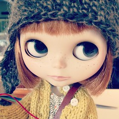 "My blythe ""Sprout"""
